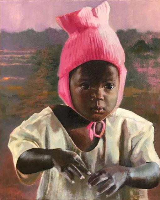 Little Ugandan girl